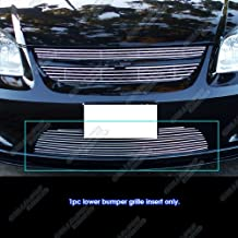 APS Compatible with 2005-2010 Chevy Cobalt SS Sport Lower Bumper Billet Grille Insert C65753A