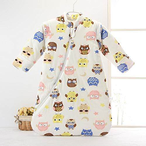 Saco de dormir para niños de 0-6 años edredón antideslizante engrosado Saco de dormir cálido para bebés varones y mujeres-A_70cm bebé sacos de dormir para niños