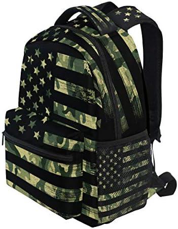 Camo school backpack _image3