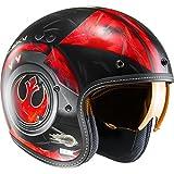 Casque Jet Moto Hjc Star Wars Fg-70 Dameron Rouge (Xl , Rouge)