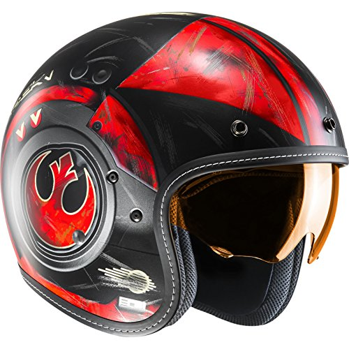Hjc Star Wars Motorrad-Jethelm Fg-70 Dameron Rot (Medium , Rot)