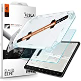 Spigen Tempered Glass Screen Protector [Glas.tR EZ FIT] designed for Tesla Model 3 / Y Dashboard Touchscreen - Matte/Anti Glare/Anti Finger Print