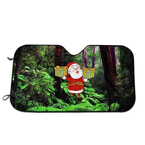 Redwood Forest, Árboles, Sunshine Car Parabrisas Parasol Parabrisas Ventana Frontal Sombrillas Bloquea Rayos Uv Protector de Visera de Sol Mantiene tu Vehículo Fresco