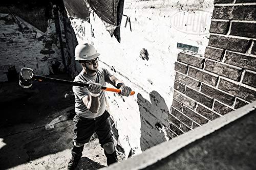 Fiskars Vorschlaghammer IsoCore XL zum Eintreiben von Holzpfählen oder Abbrucharbeiten, Länge: 92...