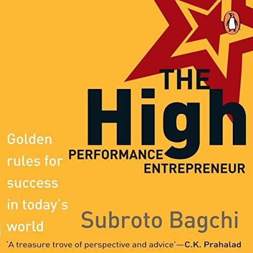 The High Performance Entrepreneur cover art