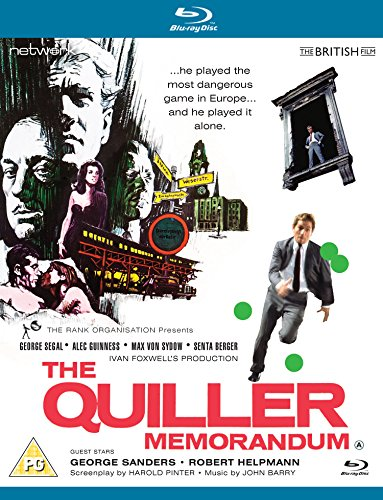 The Quiller Memorandum [Blu-ray]
