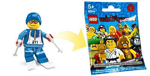 LEGO 8684 - Sammelfigur Skifahrer aus Serie 2