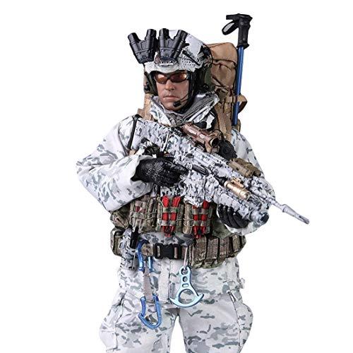 CT-Tribe - Soldatini 1/6 – Navy Seal Winter Combat Training 2.0, 30 cm soldati Action figure modellino giocattolo militare collezione di tifosi militari