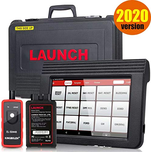 LAUNCH X431 V PRO Bi-Directional Scan Tool OBD2 Scanner Full System Scanner with ECU Coding,Actuation Test,Key IMMO,Remote Diagnostic,30+ Reset Functions,Free Update,Full Connector Kit + EL-50448 Tool