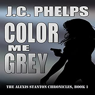 Color Me Grey audiobook cover art