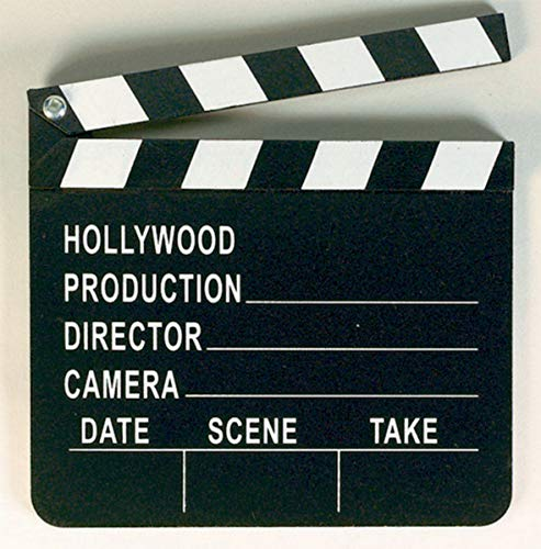 amscan Filmklappe International Directors Hollywood
