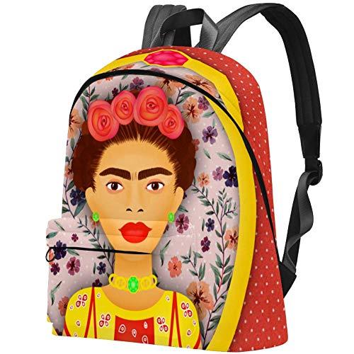 Mexico - Mochila para mujer con lunares para colegio y trabajo
