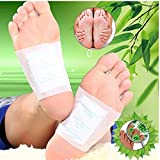Finlon disintossicante piede cerotti Detox Foot Pads patch 100 pz rilievi del piede Detox Weight Loss patch piedini Body Cleanse Disintossicare tossine adesivo Keeping Fit sanitari antistress