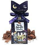 Monty Bojangles Trufas en polvo de chocolate vegano con chocolate y cacao en polvo, regalo de noches, 130 g