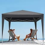 Laiozyen 3 x 6 m Waterproof Pop Up Gazebo Marquee Water Resistant Tent with Side Panels & Storage Bag for Outdoor Wedding Garden Party 10
