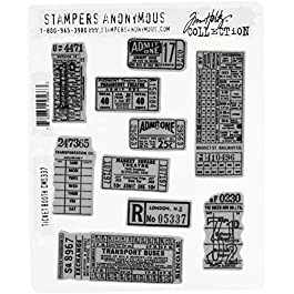 Stampers Anonymous Cling Stamp Tholtz Ticketbooth