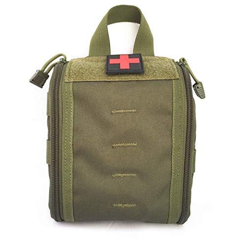 botiquín de primeros auxilios a prueba de agua Bolsa de primeros auxilios liviana Paquete de cintura multiusos portátil Kit de utilidad militar para automóvil, viajes, camping, senderismo, deportes