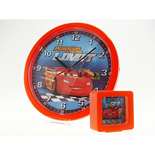 Technoline Disney Cars RSN Set - Wecker und Wanduhr