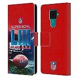 Head Case Designs Officiel NFL New Atlanta Stadium 2 2019 Super Bowl LIII Coque en Cuir à...