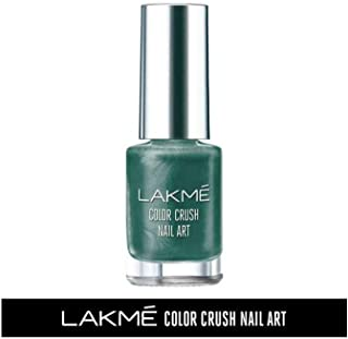 Lakme Color Crush Nailart, M10 Fern Green, 6 ml