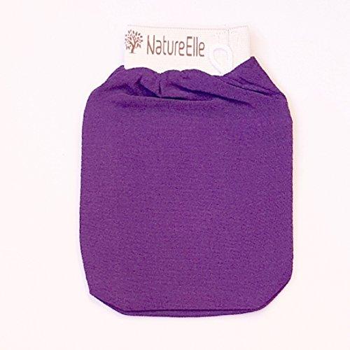 BIOCOSMETIC IT - Magico guanto esfoliante - Perfetto Scrub Viso & Corpo - Rimuove tutte le cellule morte e le impurità residue - Lascia la pelle liscia - 100% naturale