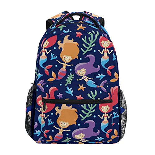 QMIN Sac à dos avec fermeture éclair pour ordinateur portable, randonnée, camping, sac à bandoulière pour garçons, filles, femmes, hommes