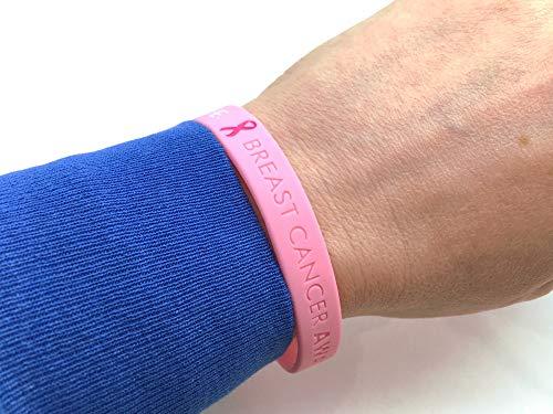 Breast Cancer Awareness Hope-Pulsera de concienciación contra el cáncer de seno-Butler & Grace
