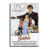 GREAT Michelle Pfeiffer Scarface Poster, dekoratives