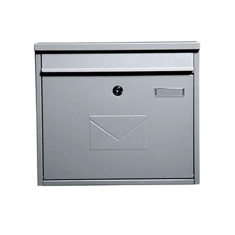 RMJAI メールボックス ポストボックスヴィラレターボックス屋外インボックス屋外ボックスロック付き提案ボックス錆メールボックス