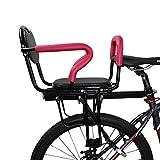 Portabicicletas De Seguridad Asientos Bici para Niños Asiento Trasero Seguridad para Niños Gran Espacio con Cinturón Seguridad para Bici Eléctrica Bici Montaña Niños 8 Meses A 6 Años