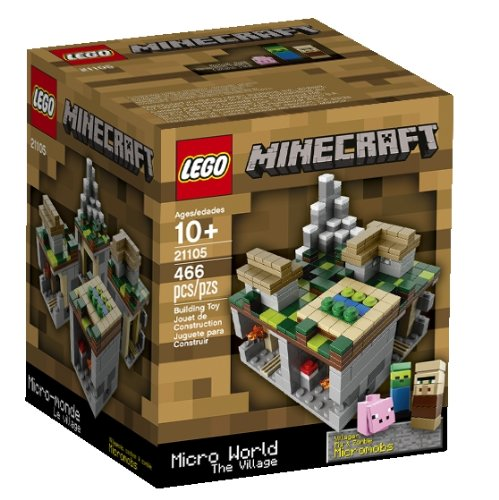 LEGO Minecraft Micro World The Village 21105 (Discontinued by manufacturer)