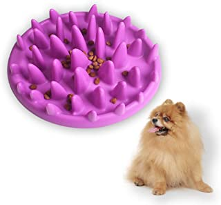 Andiker Pet Interactive Fun Feeder Bowl,Non Slip Puzzle Bowl Fun Feeder,Slow Feeder Bowls are Suitable for Dog & Cat