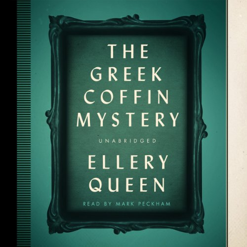 The Greek Coffin Mystery copertina