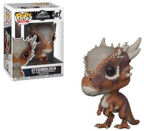 Funko Pop!- Pop Movies: Jurassic World: Fallen Kingdom-Stygimoloch Good Dinosaur Figura de Vinilo, Color marrón (30982)