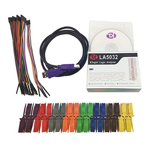 Gazechimp LA5032 500M 32CH Analizador Lógico Compone de