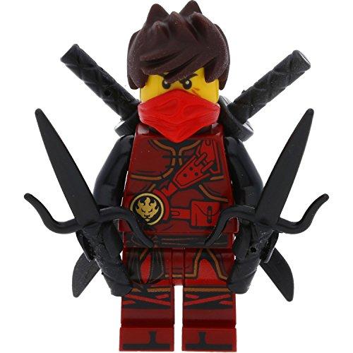 LEGO Ninjago - Figura de Kai con espadas (El maestro del tiempo)