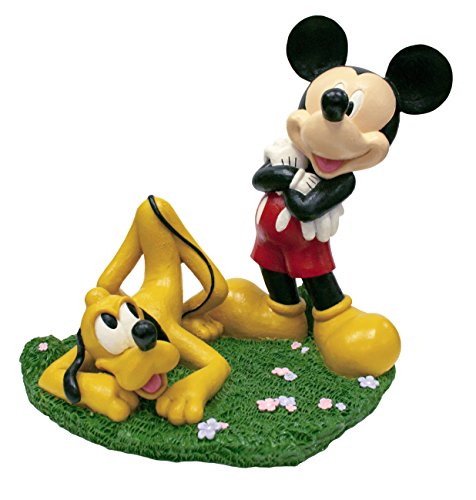 Design International Group LDG88049 Garden Statue, 13 by 12-Inch, Mickey and Pluto 2014
