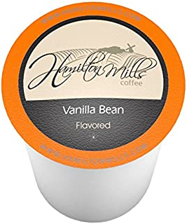 Hamilton Mills Vanilla Bean Coffee Pods, 2.0 Keurig K-Cup Brewer Compatible, 40 Count