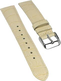 Correa de repuesto para reloj Casio Collection Ladies de piel beige LTF-119L