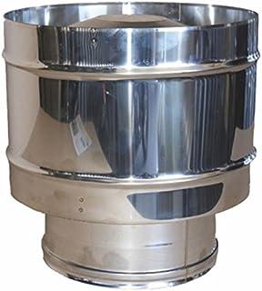2 MT CERTIFICAT LE TOP MISTERMOBY TUBE FLEXIBLE ACIER INOX /Ø 140 MM EPAISSEUR DOUBLE