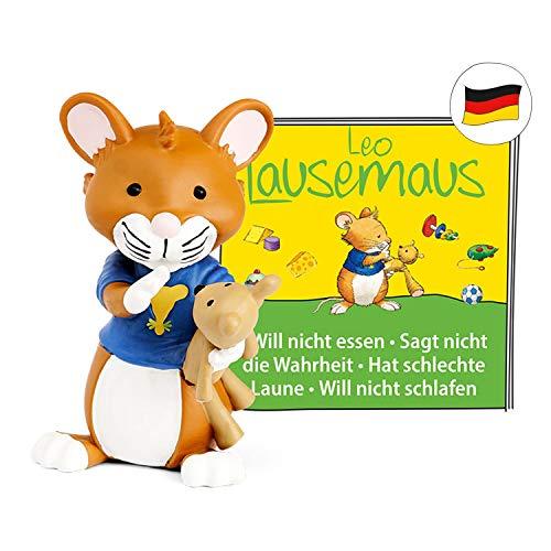 tonies Hörfiguren für Toniebox: Leo LAUSEMAUS Hörspiel Folge 1 - Das Original Hörspiel zu den Büchern - ca 46 Min. Spieldauer - ab 3 Jahre - DEUTSCH