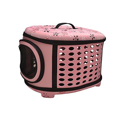 hhxiao Borsa per Animali Domestici carrozzerie Cat-Carrying Pet Travel Carrier per Cani Bag Folding Portable Breathable Outdoor Carrier Pet Bag Transportin Zain