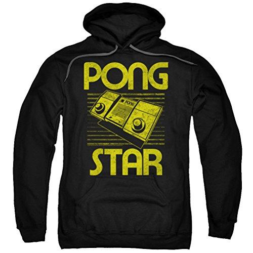 Atari Pong Star Hoodie for Men