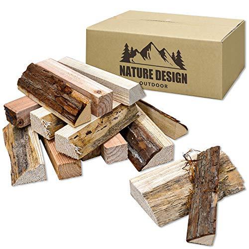材木屋監修 ソロキャンプ コンパクトストーブ用 針葉樹の薪 長さ17cm 約30個 宅配80サイズ 額田産