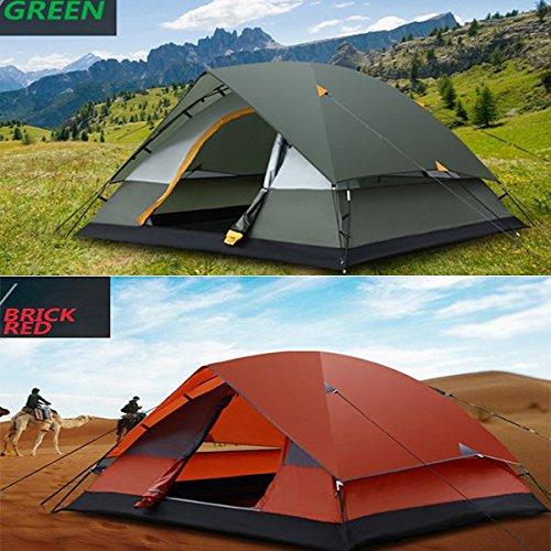 Bazaar Outdoor-Camping-Zelt 3-4 Personen Zwei Ebenen Sturmsichere Tent