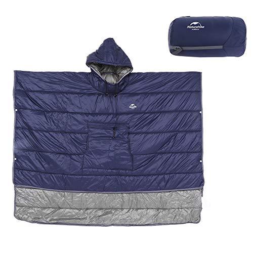 TAKE FANS Capa con capucha impermeable multifuncional del saco de dormir para acampar al aire libre que viaja durable