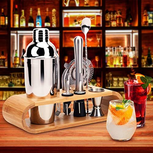 Hochwertiges Cocktailmixer Set, 10 Teilig - 10