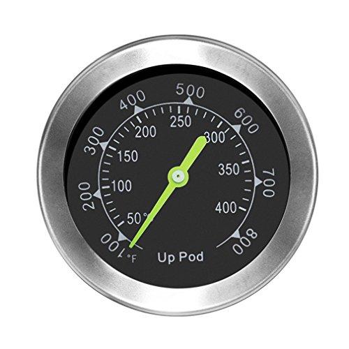 UPPOD Thermometer grillzubehör Thermostat Grill Thermometer für Smoker mit Rosette, Grillen, Backen (small)