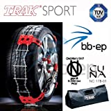 'TRAK-SPORT' L'innovativa catena da neve Trak nella versione Sport, assicura il...