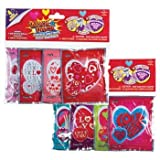genius.nn Unique & Fun Valentines Day Cards Gift Exchange Ideas for Kids - Wack-A-Pack Assorted Self-Inflating Foil Balloons.